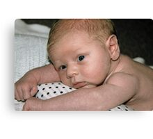 Baby George 2  Canvas Print