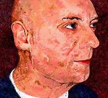 Portrait of a Bald Man by Epicurian