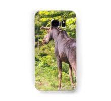 Bull Moose in Maine Samsung Galaxy Case/Skin