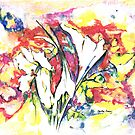 Bright flowers from Africa by Santie Amery