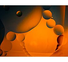 Abstract - Solar System Photographic Print