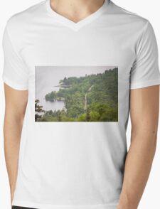 Lakeside Road Mens V-Neck T-Shirt