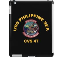 USS Philippine Sea Crest for Dark Colors iPad Case/Skin