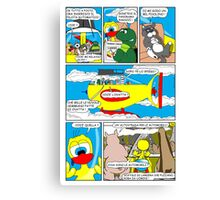 """Rick the chick  """"THE MAGIC SHELL parte 36"""" Canvas Print"""