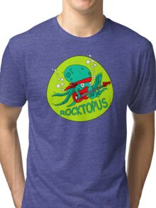 The Amazing RocktOpus Tri-blend T-Shirt