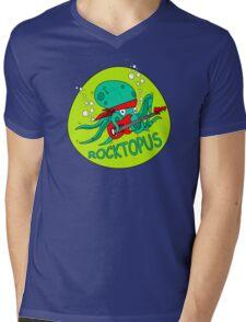 The Amazing RocktOpus Mens V-Neck T-Shirt