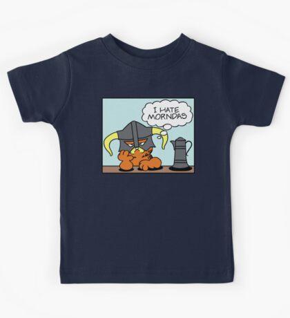 The Lasagnaborn (Cyan Version) Kids Tee
