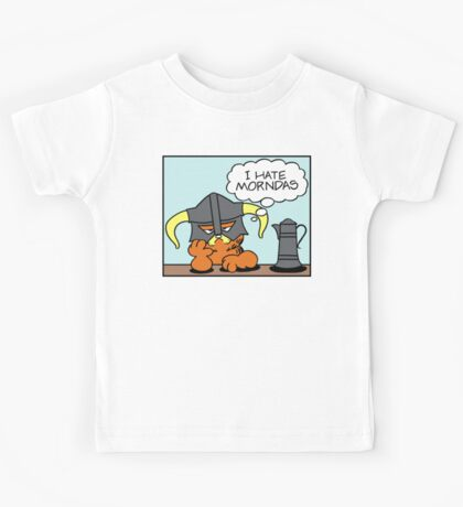 The Lasagnaborn (Cyan Version) Kids Tee