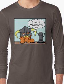 The Lasagnaborn (Cyan Version) Long Sleeve T-Shirt