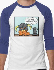 The Lasagnaborn (Cyan Version) Men's Baseball ¾ T-Shirt