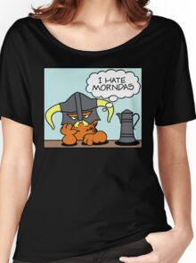 The Lasagnaborn (Cyan Version) Women's Relaxed Fit T-Shirt