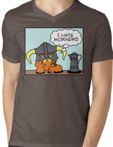 The Lasagnaborn (Cyan Version) Mens V-Neck T-Shirt