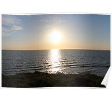 Full sun over Indian Ocean BB0258 Poster