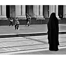 She stands alone Photographic Print