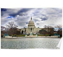 United States Capitol, Washington D.C. Poster