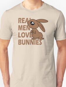 Real Men Love Bunnies T-Shirt
