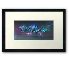 Aquatic Structure 2 Framed Print