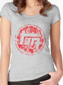 Vintage Distressed Toyota Women's Fitted Scoop T-Shirt