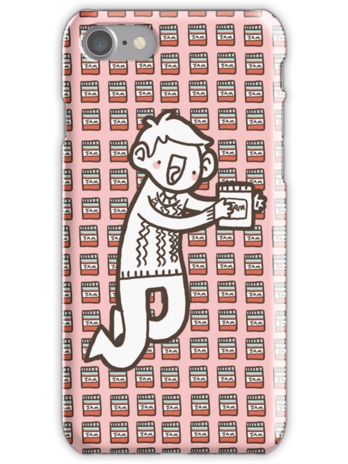 John/Jam iPhone Case by geothebio