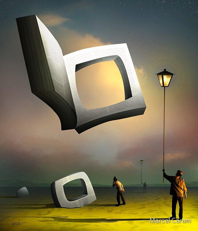 O Livro sem Título. by Marcel Caram