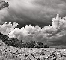 Desert Cloud Drama by Kim Barton