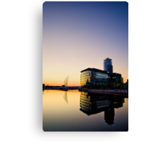 media city.. Canvas Print