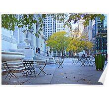 Street Scene NYC Poster