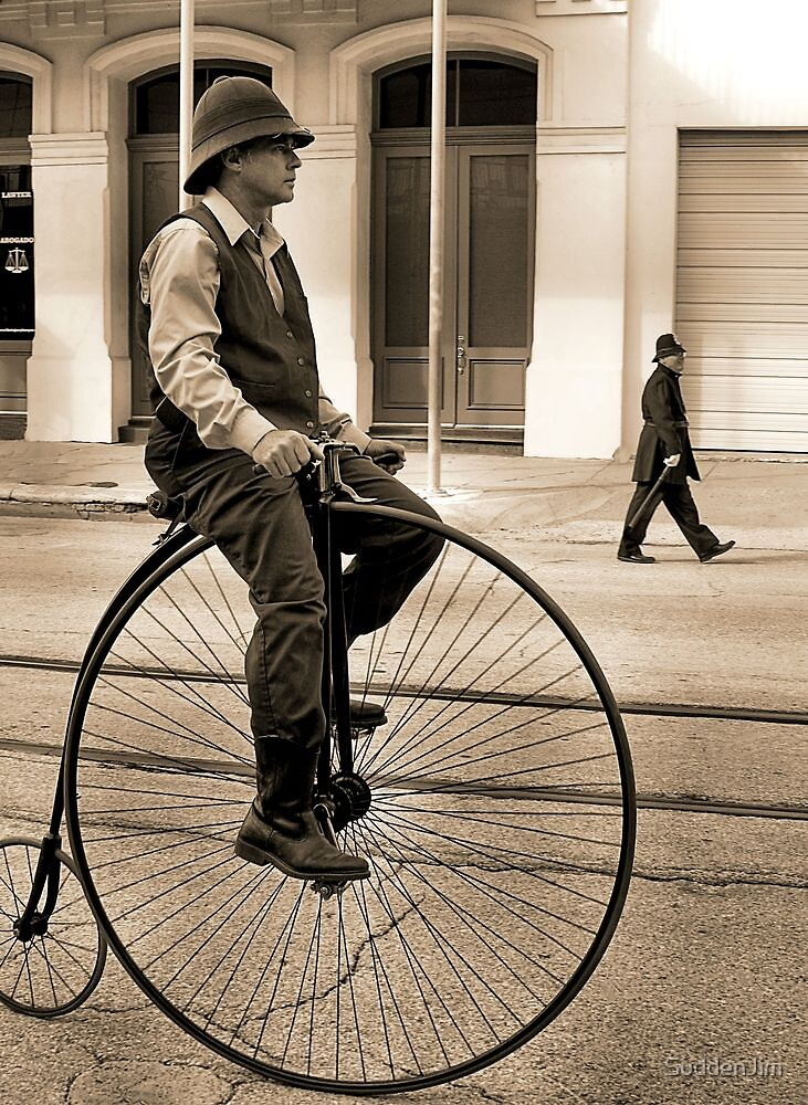 Bobby And Bicycle by SuddenJim