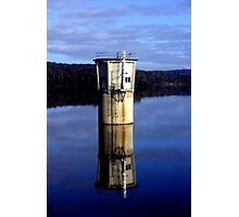 Old Water Tower Photographic Print