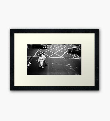 1985 - look Framed Print