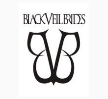 Black Veil Brides Logo (White) by WolfCalypsus