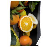 Sicilian orange Poster