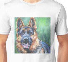 German Shepherd Fine Art Painting Unisex T-Shirt