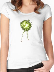 electrifying Women's Fitted Scoop T-Shirt