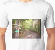 Rural Path through the woods Unisex T-Shirt