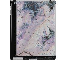 USGS Topo Map Washington State WA Downey Mountain 20110510 TM Inverted iPad Case/Skin
