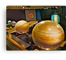 Solar System in Miniature  Canvas Print