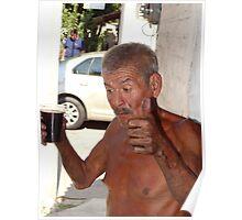 And after the work...a drink - Y despues del trabajo una bebida Poster