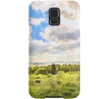 Sunny Lakeside Landscape Samsung Galaxy Case/Skin