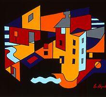 Townscape by Gio Alzapiedi