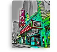 The Fabulous Fox Theater - Atlanta, Georgia Canvas Print