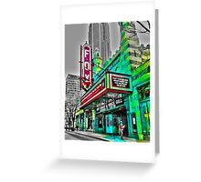 The Fabulous Fox Theater - Atlanta, Georgia Greeting Card