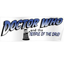 Doctor Who and the Temple of the Daleks Poster