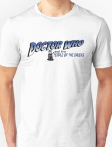 Doctor Who and the Temple of the Daleks T-Shirt