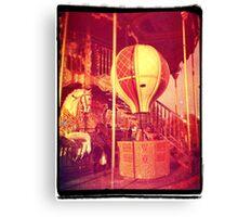 Ancient Carousel Canvas Print