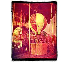 Ancient Carousel Photographic Print