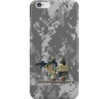 Modern Military digital camo 2 iPhone Case/Skin