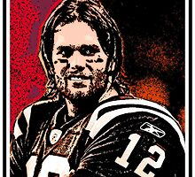 TOM BRADY by OTIS PORRITT