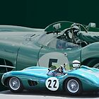 Aston Martin DBR1 by Willie Jackson