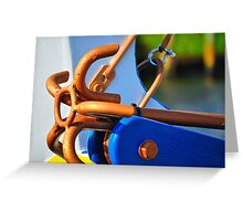 Golden Anchor  Greeting Card